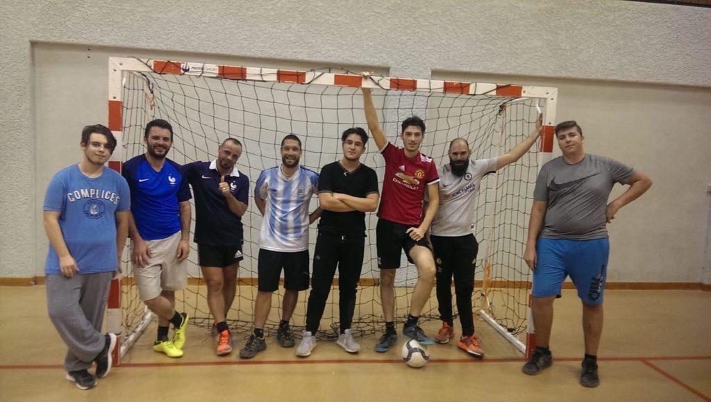 """""""Futsal"""",""""foot en salle"""",""""Brézins Multisports"""""""