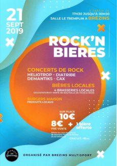 """Rock'n Bieres"",""Brézins Multisports"", ""Manifestations"","